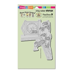 Stampendous Cling Mounted Rubber Stamps - House Mouse Designs - Teacher Time
