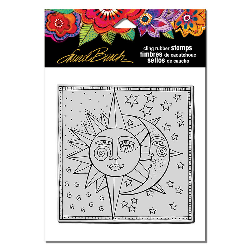 Celestial Stampendous Laurel Burch Cling Stamp