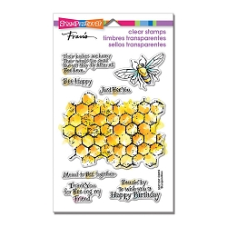 Stampendous Perfectly Clear Stamp - Honeycomb Wishes