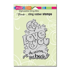 Stampendous Cling Mounted Rubber Stamps - Great Big Love