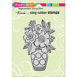 Stampendous Cling Mounted Rubber Stamps - Blossom Vase