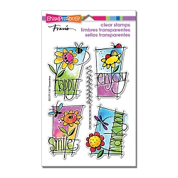 Stampendous Perfectly Clear Stamp - Window Messages Perfectly Clear Stamps