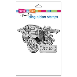 Stampendous - Cling Classic Car Rubber Stamp