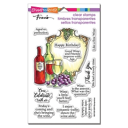 Stampendous - Wine Frame Perfectly Clear Stamps