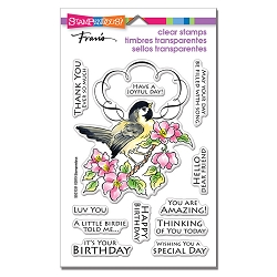 Stampendous - Bird Frame Perfectly Clear Stamps