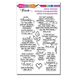 Stampendous - Bible Verses Perfectly Clear Stamps