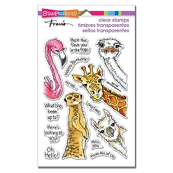 Stampendous - Peeking Pals Perfectly Clear Stamps