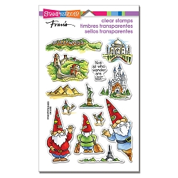 Stampendous - Gnome Travels Perfectly Clear Stamps