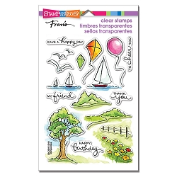 Stampendous - Scenic Sampler Perfectly Clear Stamps