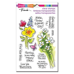 Stampendous - Bunch Of Blossoms Perfectly Clear Stamps