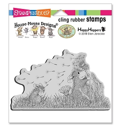 Stampendous - House Mouse Windy Wish Cling Rubber Stamp