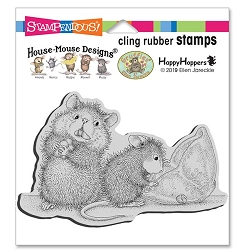 Stampendous - House Mouse Missing Treats Cling Rubber Stamp