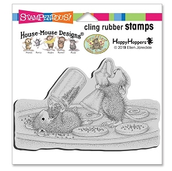 Stampendous - House Mouse Cookie Sprinkles Cling Rubber Stamp