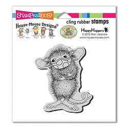 Stampendous - House Mouse Masked Maxwell Cling Rubber Stamp