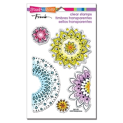 Stampendous - Floral Circles Perfectly Clear Stamps
