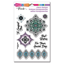 Stampendous - Floral Diamonds Perfectly Clear Stamps