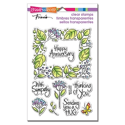 Stampendous - Leafy Frame Perfectly Clear Stamps