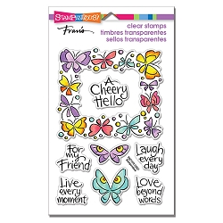 Stampendous - Winged Frame Perfectly Clear Stamps