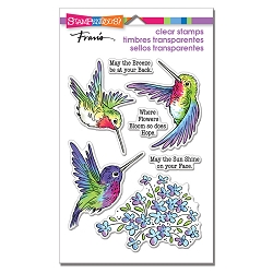 Stampendous - Hummingbird Hope Perfectly Clear Stamps