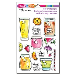 Stampendous - Fruity Drinks Perfectly Clear Stamps