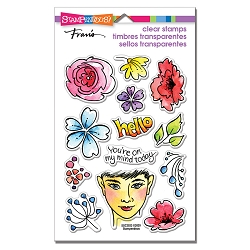 Stampendous - On My Mind Perfectly Clear Stamps