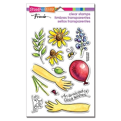 Stampendous - Hands Hold Perfectly Clear Stamps