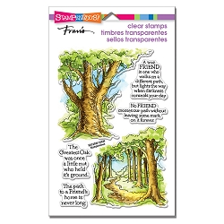 Stampendous - Forest Path Perfectly Clear Stamps