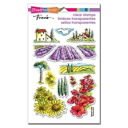 Stampendous - Field Of Flowers Perfectly Clear Stamps