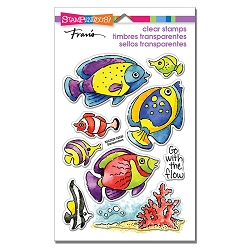 Stampendous - Go Fish Perfectly Clear Stamps