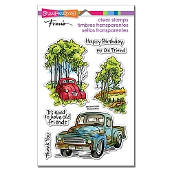 Stampendous - Truck Friends Perfectly Clear Stamps