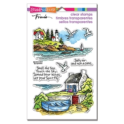 Stampendous - Lighthouse Cottage Perfectly Clear Stamps