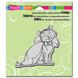 Stampendous - Cling Mounted Rubber Stamp - Catula