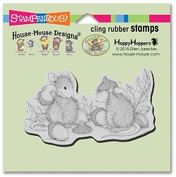 Stampendous Cling Mounted Rubber Stamps - House Mouse Designs - Acorn Cap Rubber Stamp
