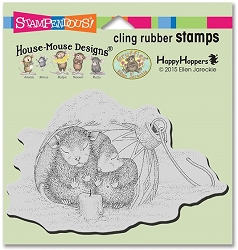 Stampendous Cling Mounted Rubber Stamps - House Mouse Designs - Ornament Warmth Rubber Stamp