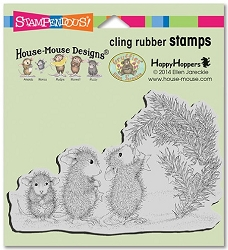 Stampendous Cling Mounted Rubber Stamps - House Mouse Designs - Star Decorations Rubber Stamp