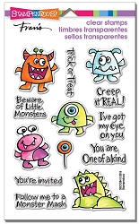 Stampendous Perfectly Clear Stamp - Little Monsters