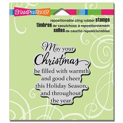 Stampendous - Cling Mounted Rubber Stamp - Good Cheer