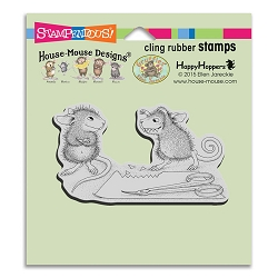 Stampendous Cling Mounted Rubber Stamps - House Mouse Designs - Monster Mouse Rubber Stamp