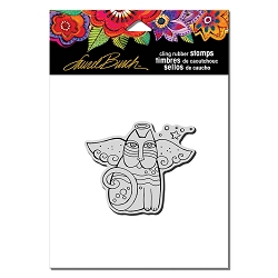 Stampendous - Laurel Burch - Cling Rubber Stamp Cat Angel