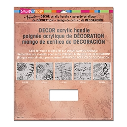 Stampendous Decor Clear Handle (for Decor background stamps)