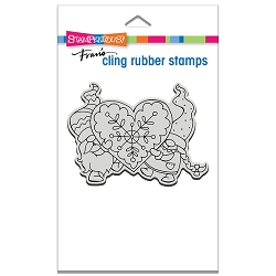 Stampendous - Cling Gnome Love Rubber Stamp