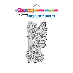 Stampendous - Cling Seaside Christmas Rubber Stamp