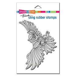 Stampendous - Cling Owl Swoop Rubber Stamp