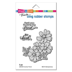 Stampendous - Cosmos Friend Cling Rubber Stamp Set