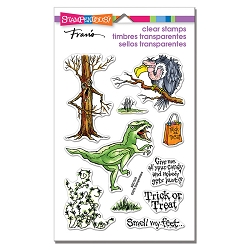 Stampendous - Creature Tricks Perfectly Clear Stamps