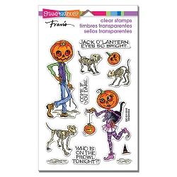 Stampendous - Pumpkin People Perfectly Clear Stamps