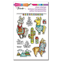Stampendous - Llama Sweaters Perfectly Clear Stamps