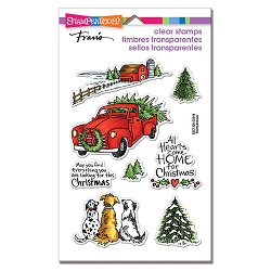Stampendous - Christmas Farm Perfectly Clear Stamps