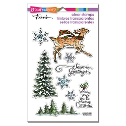 Stampendous - Woodland Deer Perfectly Clear Stamps