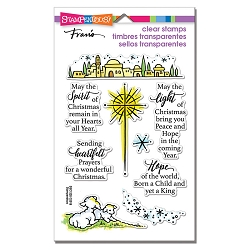 Stampendous - Light And Hope Perfectly Clear Stamps